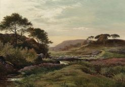 Highland Landscape | Sidney Richard Percy | Oil Painting