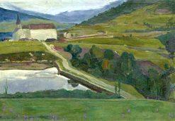 Lens   Rene Auberjonois   Oil Painting