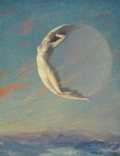 Selene   Albert Aublet   Oil Painting