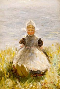On the Zuyder Zee | Robert Gemmell Hutchison | Oil Painting
