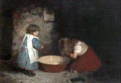 Morning Toilete   Robert Gemmell Hutchison   Oil Painting