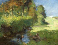 Guddling | Robert Gemmell Hutchison | Oil Painting