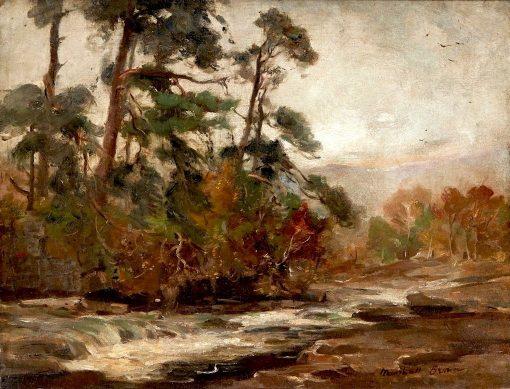 Killin | William Marshall Brown | Oil Painting