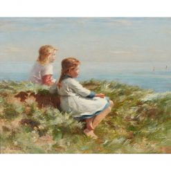 Looking out to Sea | William Marshall Brown | Oil Painting