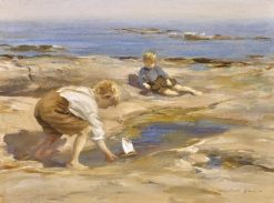 Young Sailors | William Marshall Brown | Oil Painting
