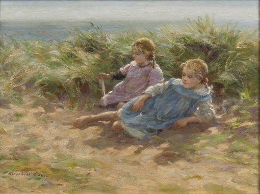 Summer Days in the Dunes | William Marshall Brown | Oil Painting