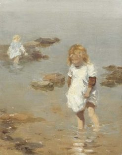 Wading | William Marshall Brown | Oil Painting