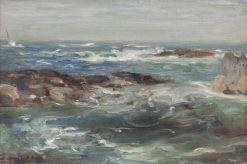 Berwickshire Coast | William Marshall Brown | Oil Painting