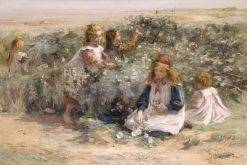 Seaside Roses | William Marshall Brown | Oil Painting