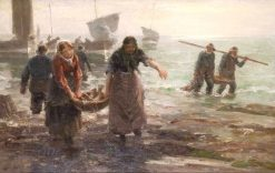 After the Catch | William Marshall Brown | Oil Painting