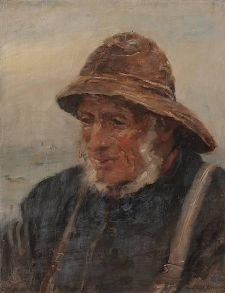 The Fisherman | William Marshall Brown | Oil Painting