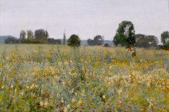 A Summer Landscape | Sir David Scott Murray | Oil Painting