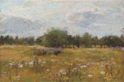 A Summer Meadow | Sir David Scott Murray | Oil Painting