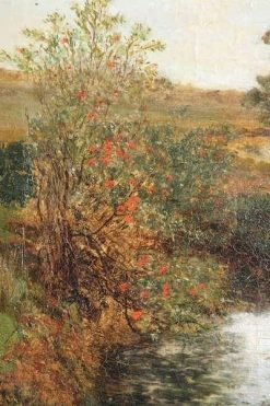 Heathland with Pond | Sir David Scott Murray | Oil Painting