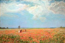 Flowers of the Field | Sir David Scott Murray | Oil Painting
