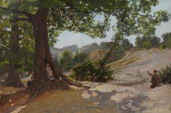 The Hollow Tree | Sir David Scott Murray | Oil Painting