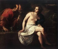 Susanna and the Elders | Guido Cagnacci | Oil Painting