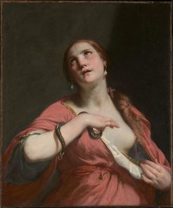 The Death of Cleopatra   Guido Cagnacci   Oil Painting