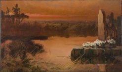 Sunset on the Swamp | Enrique Serra y Auque | Oil Painting