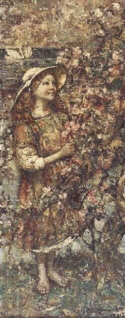 Blossom-Time | Edward Atkinson Hornel | Oil Painting