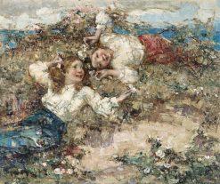 Anemones | Edward Atkinson Hornel | Oil Painting