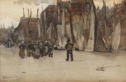 Honfleur | Arthur Melville | Oil Painting