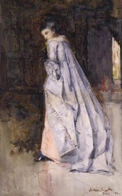 Portrait of a Lady | Arthur Melville | Oil Painting