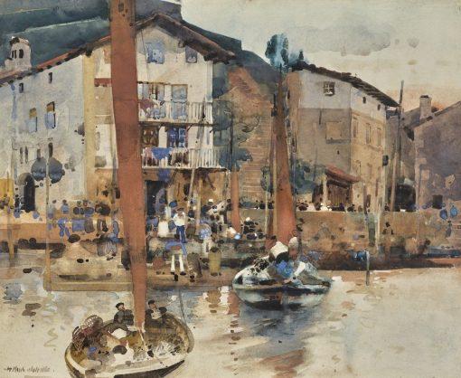 A Spanish Fishing Village