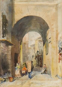 Moroccan Street | Arthur Melville | Oil Painting