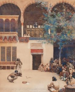 The Snake Charmer   Arthur Melville   Oil Painting