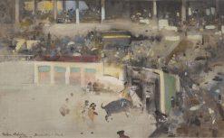 Banderilles à Cheval | Arthur Melville | Oil Painting