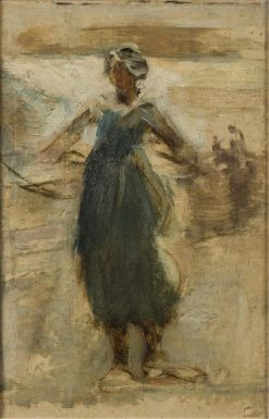 Gitana Dancing Girl Granada | Arthur Melville | Oil Painting