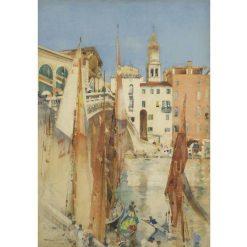 Garnet Sails | Arthur Melville | Oil Painting