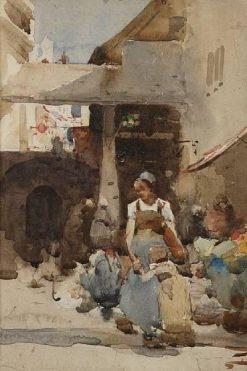 Old Enemies (study) | Arthur Melville | Oil Painting