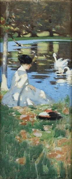 Swan Lake | George Henry | Oil Painting