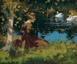 Contemplation | George Henry | Oil Painting
