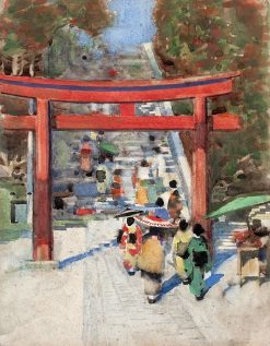 Japanese Scene | George Henry | Oil Painting