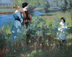 An Afternoon by a Riverbank | George Henry | Oil Painting
