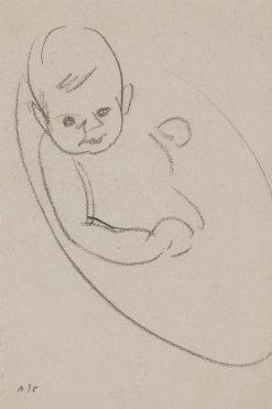 Baby Willy in his Bath | Samuel John Peploe | Oil Painting