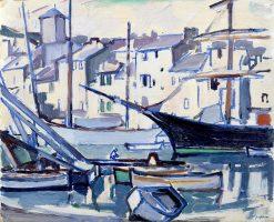 Cassis Harbour | Samuel John Peploe | Oil Painting