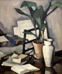 Aspidistra | Samuel John Peploe | Oil Painting