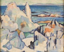 Cathedral Rock Iona | Samuel John Peploe | Oil Painting