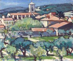 Cassis | Samuel John Peploe | Oil Painting