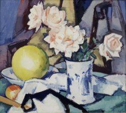 Blue and White Vase | Samuel John Peploe | Oil Painting