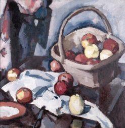 Basket and Apples | Samuel John Peploe | Oil Painting
