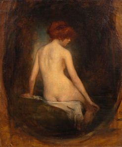 Bather from Behind | René Avigdor | Oil Painting