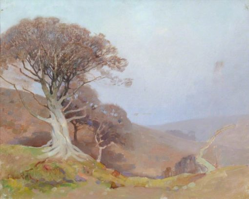 On the Quantocks | Benjamin Haughton | Oil Painting