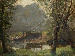 On the Yeo | Benjamin Haughton | Oil Painting