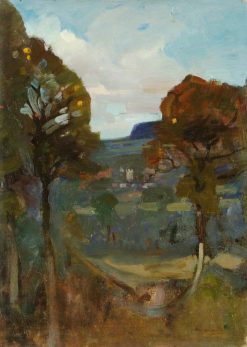 Ottery St Mary | Benjamin Haughton | Oil Painting
