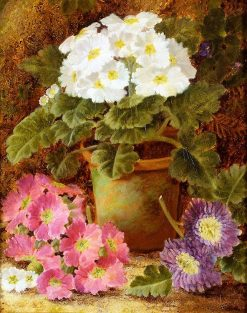 Potted Flowers | Oliver Clare | Oil Painting